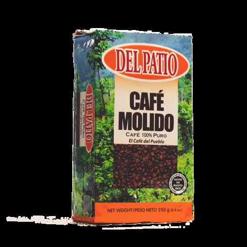 Imagen de CAFÉ DEL PATIO MOLIDO BRICK 8.8OZ