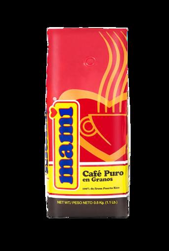 Imagen de CAFE MAMI GRANOS 1.1 LBS