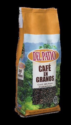 Imagen de CAFE DEL PATIO GRANOS 2.2LBS