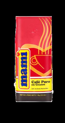 Imagen de CAFE MAMI GRANOS 2.2 LBS