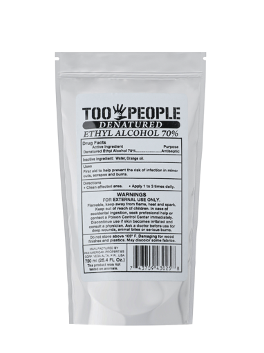 Imagen de Alcohol Ethyl al 70% Pouch 25.4 oz