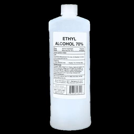 Imagen de Alcohol 70% Botella plastica 32oz